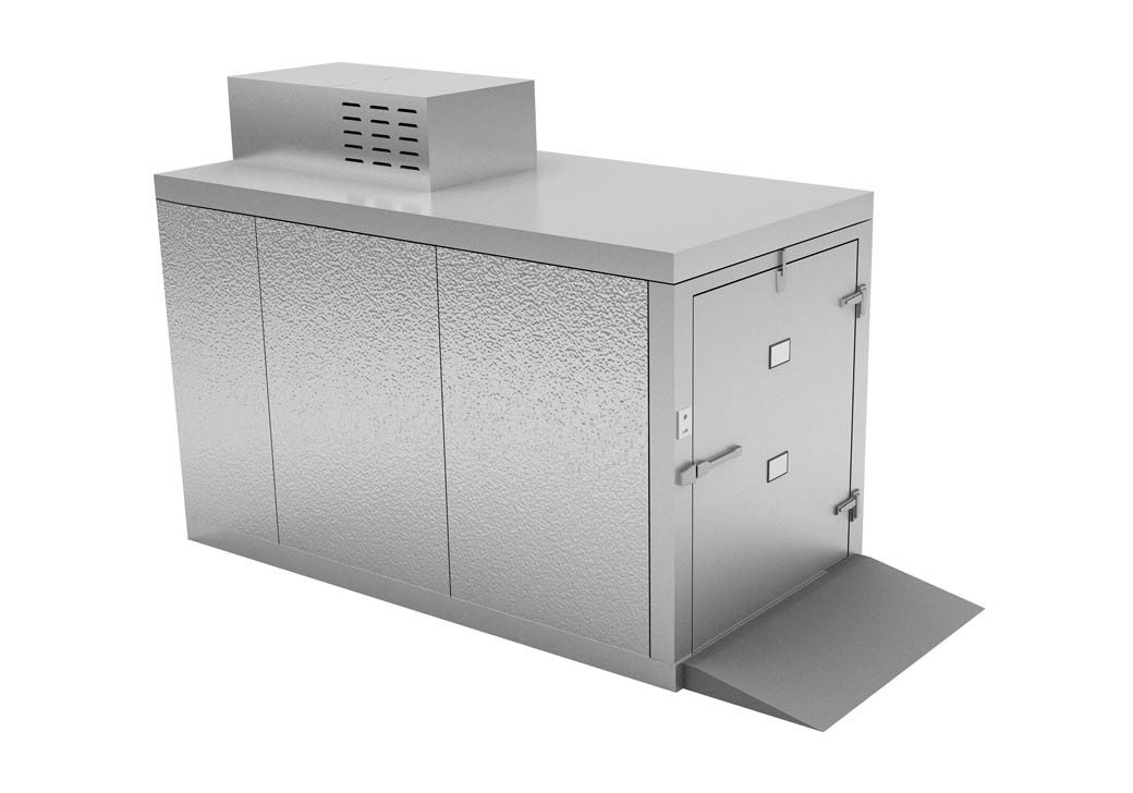 """Mortuary Fridge 2 body roll in  - for  27"""" Tray Carrier  - KB300"""